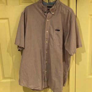 EUC. Chaps. Short sleeve button down